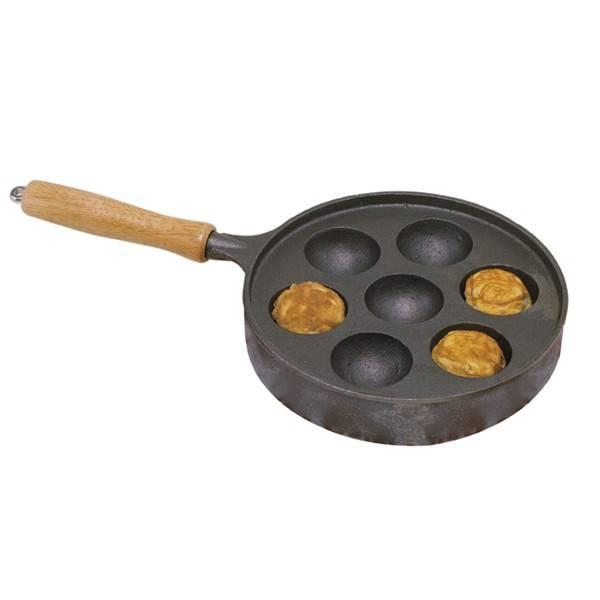 Norpro - Norpro Deluxe Stuffed Pancakes Munk/Aebleskiver Pan