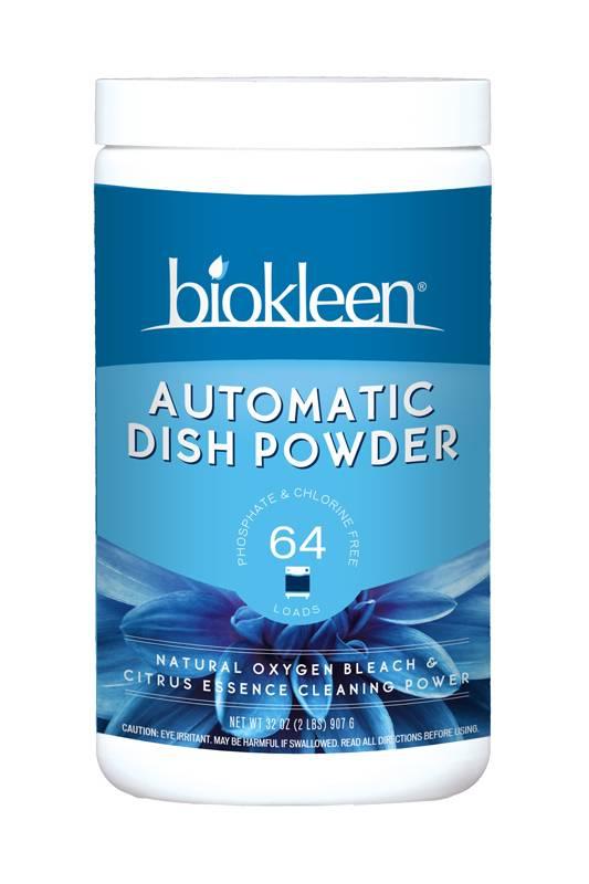 Biokleen Automatic Dish Powder 32 Oz 12 Pack
