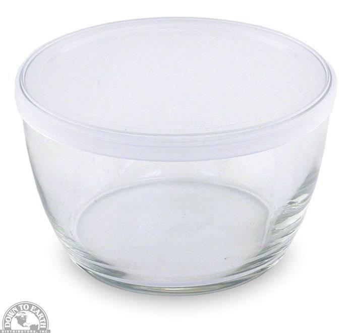 libbey glass storage bowls with lids 16 oz. Black Bedroom Furniture Sets. Home Design Ideas