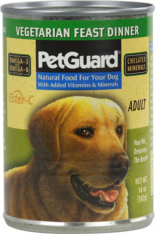 Petguard Organic Vegetarian Dog Food