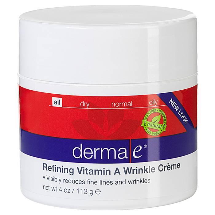 Derma E Anti-Wrinkle Vitamin A Retinyl Palmitate Creme 4 oz