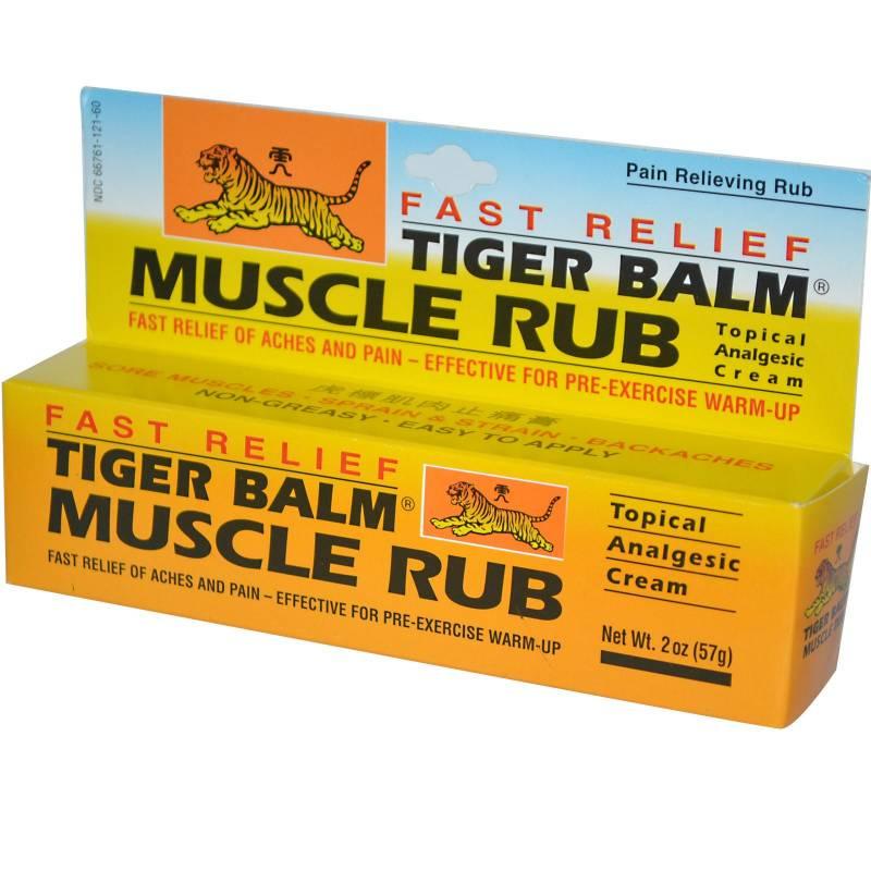 Ingredients of tiger balm