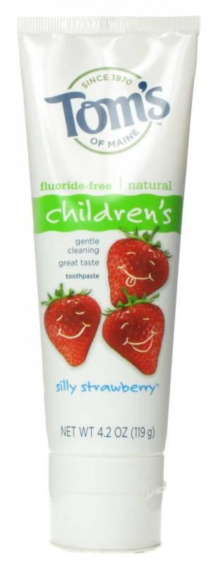 Fluoride free kids toothpaste