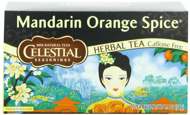 Mandarin spice tea