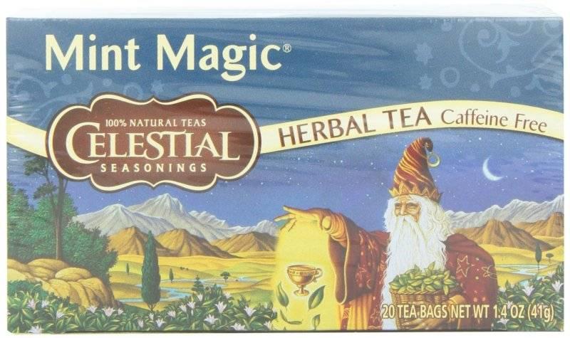Celestial Seasonings Mint Magic Herbal Tea 20 Bags