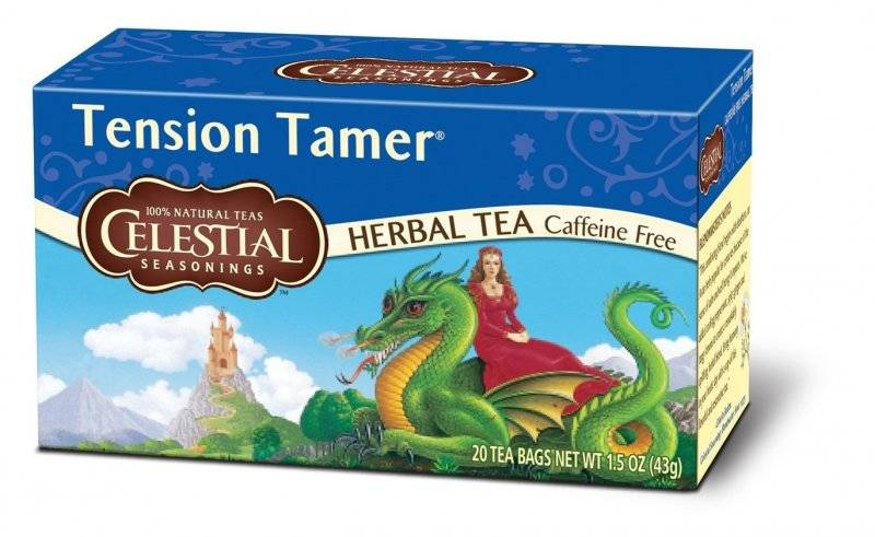 Tension tamer celestial seasonings