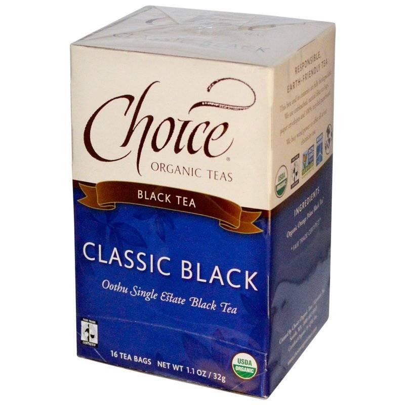 Choice teas