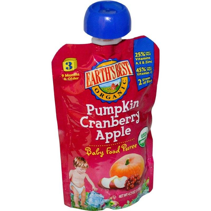 Earth S Best Baby Food Pumpkin