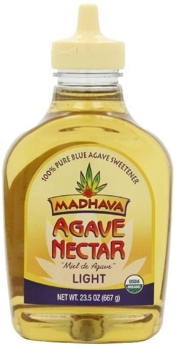 madhava honey organic light agave nectar 23 5 oz 6 pack. Black Bedroom Furniture Sets. Home Design Ideas