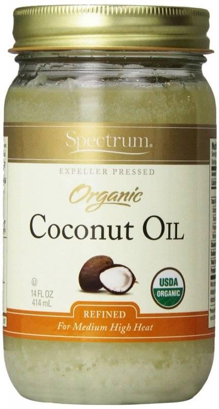 Spectrum refined coconut oil for hair