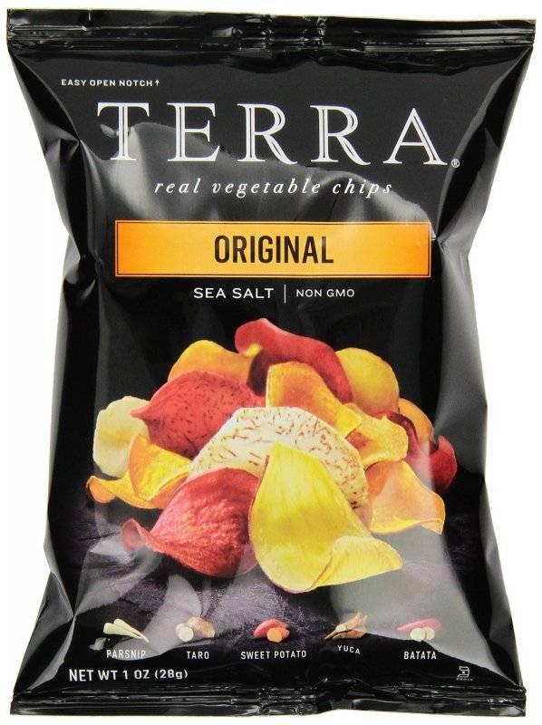 Terra Chips Original Exotic Vegetable Chips 1 oz 24 Pack ...