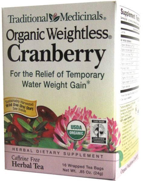 Cranberry weightless tea
