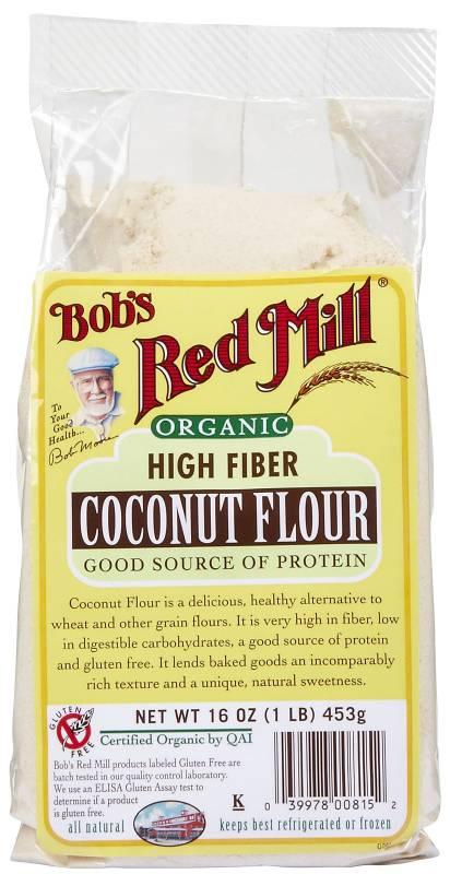 Bob's Red Mill Organic Coconut Flour 16 oz (4 Pack)