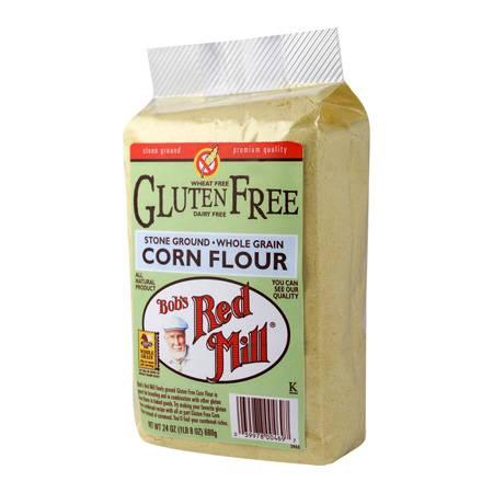 Bob's Red Mill Gluten Free Corn Flour 24 oz (4 Pack)