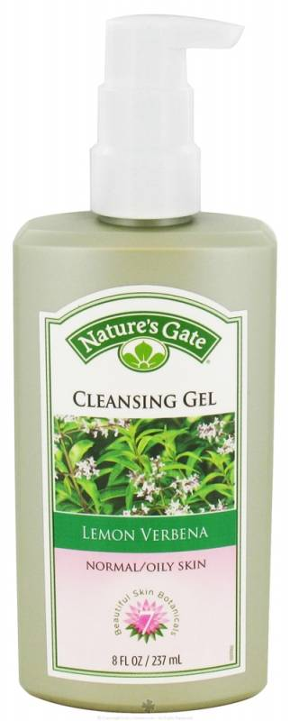 Lemon Verbena Cleansing Gel Normal/Oily Skin Natures Gate 8 oz Liquid The Saem - CHAGA Anti-Aging Biocellulose Sheet - 10x20ml/0.67oz