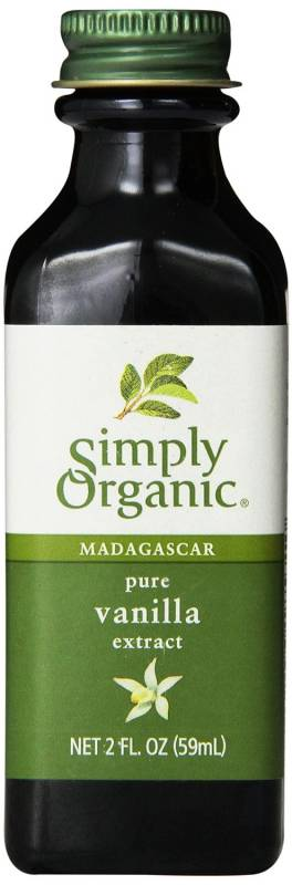 Organic pure vanilla extract