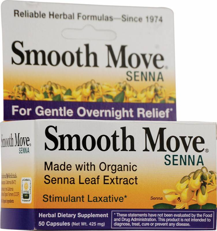 Smooth move senna capsules