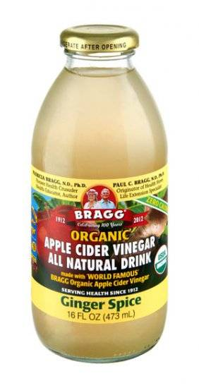 Bragg Organic Apple Cider Vinegar Drink - Ginger Spice 16