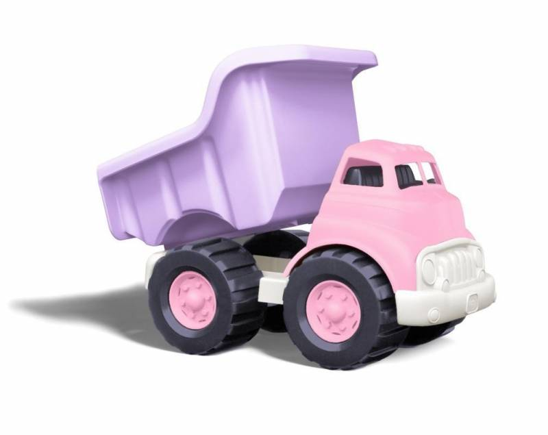 Toys Pink Dump Truck : Green toys dump truck pink