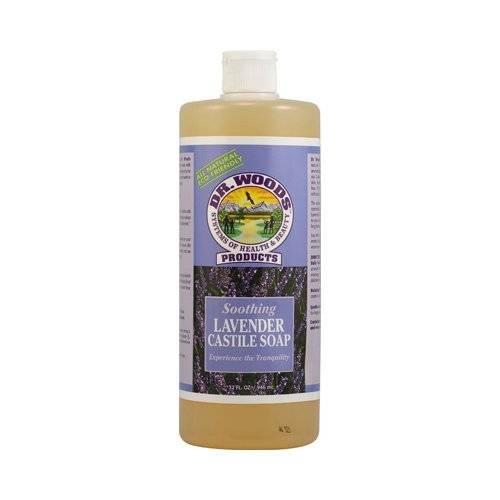 dr woods castile soap liquid lavender 32 oz. Black Bedroom Furniture Sets. Home Design Ideas