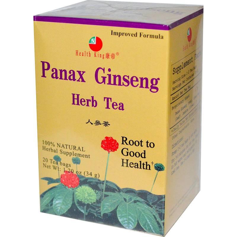 Health King Panax Ginseng Tea 20 Bag