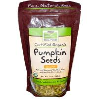 Now Foods - Now Foods Pumpkin Seeds Certified Organic 12 oz