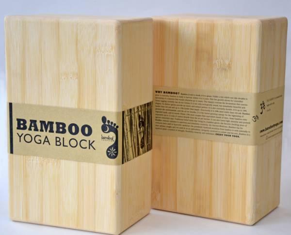 Barefoot Yoga - Barefoot Yoga Yoga Blocks - Bamboo