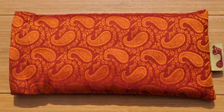 Barefoot Yoga - Barefoot Yoga Eye Pillow - Rassi Rust