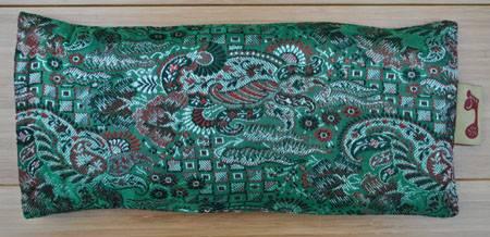 Barefoot Yoga - Barefoot Yoga Gujarati Eye Pillow - Green Lavender
