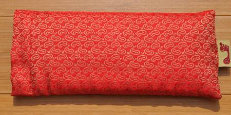 Barefoot Yoga - Barefoot Yoga Rami Eye Pillow - Red Lavender
