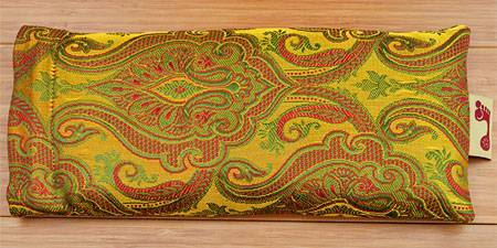 Barefoot Yoga - Barefoot Yoga Tulsi Eye Pillow - Gold Lavender