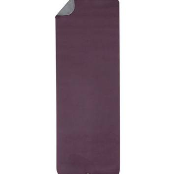 Gaiam - Gaiam Banyan & Bo Earth Saver Yoga Mat 5mm - Plum/River rock