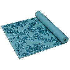 Gaiam - Gaiam Print Yoga Mat 3mm - Neo-Baroque Blue