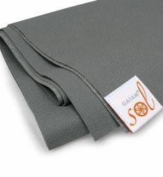 Gaiam - Gaiam Gaiam Sol Thin-Grip Yoga Mat 1mm