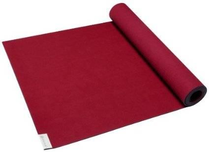 Gaiam - Gaiam Gaiam Sol Power-Grip Yoga Mat 4mm - Deep Red