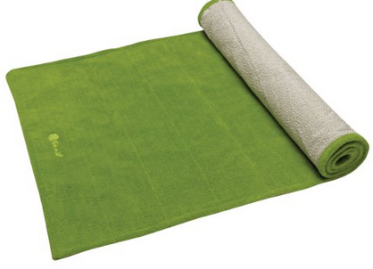 Gaiam - Gaiam Grippy Yoga Mat Towel - Green