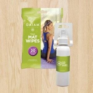 Gaiam - Gaiam Yoga Mat Care Kit