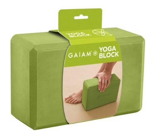 Gaiam - Gaiam Yoga Essentials Block - Apple