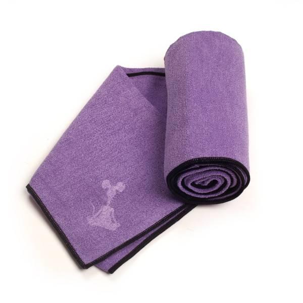 YogaRat - YogaRat Yoga Towel - Purple/Black