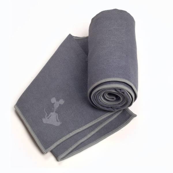 YogaRat - YogaRat Yoga Hand Towel - Charcoal/Ash