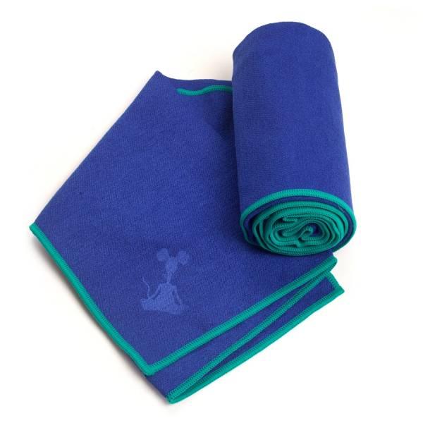 YogaRat - YogaRat Yoga Hand Towel - Indigo/Tuquoise