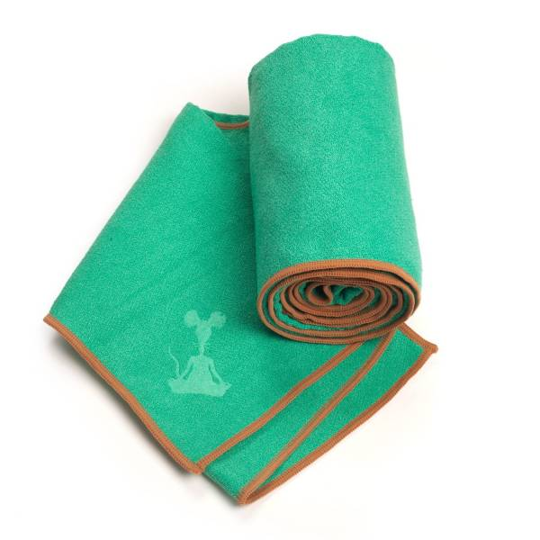 YogaRat - YogaRat Yoga Towel XL - Seafoam/Tan