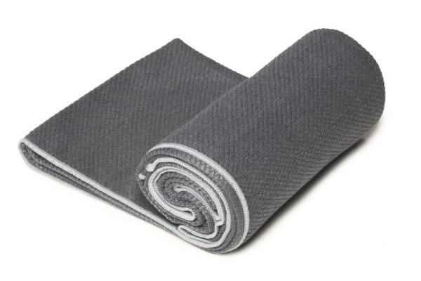 YogaRat - YogaRat Diamond Grip Yoga Towel - Charcoal/Ash