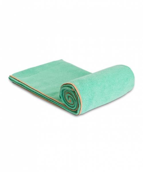 YogaRat - YogaRat Diamond Grip Yoga Towel - Seafoam/Tan