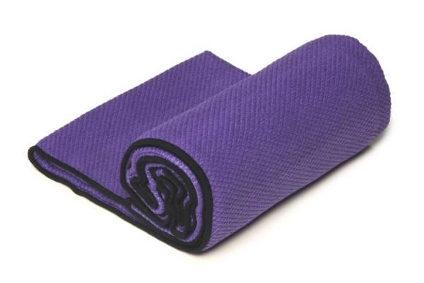 YogaRat - YogaRat Diamond Grip Yoga Towel - Purple/Black