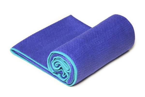 YogaRat - YogaRat Diamond Grip Yoga Towel - Indigo/Turquoise