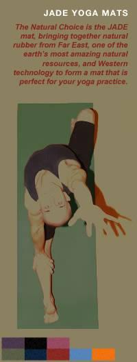 "Jade Yoga - Jade Yoga Harmony Professional Yoga Mat 24"" x 74"" - Olive Green"