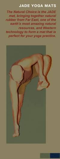 """Jade Yoga - Jade Yoga Harmony XW Yoga Mat 24"""" x 68"""" - Olive Green"""