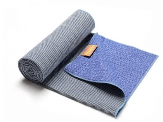 Hugger Mugger - Hugger Mugger Bamboo Yoga Towel - Sky Blue