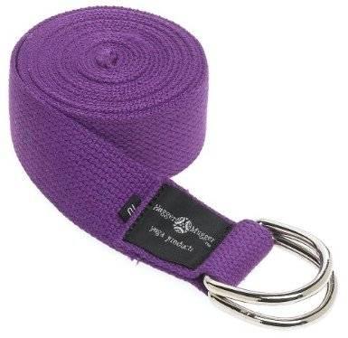 Hugger Mugger - Hugger Mugger 6 ft Cotton Strap with D Ring - Purple